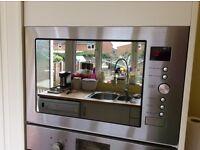 Russell Hobbs built in combination 1000watt microwave oven excellent condition