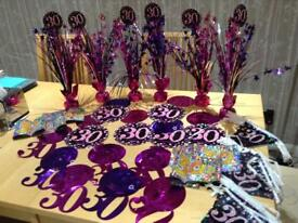 30th birthday decorations package