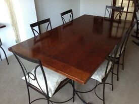 Fantastic American furniture including large dining table