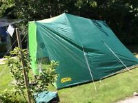 TENT, Blacks ridge style, used once, excellent condition.