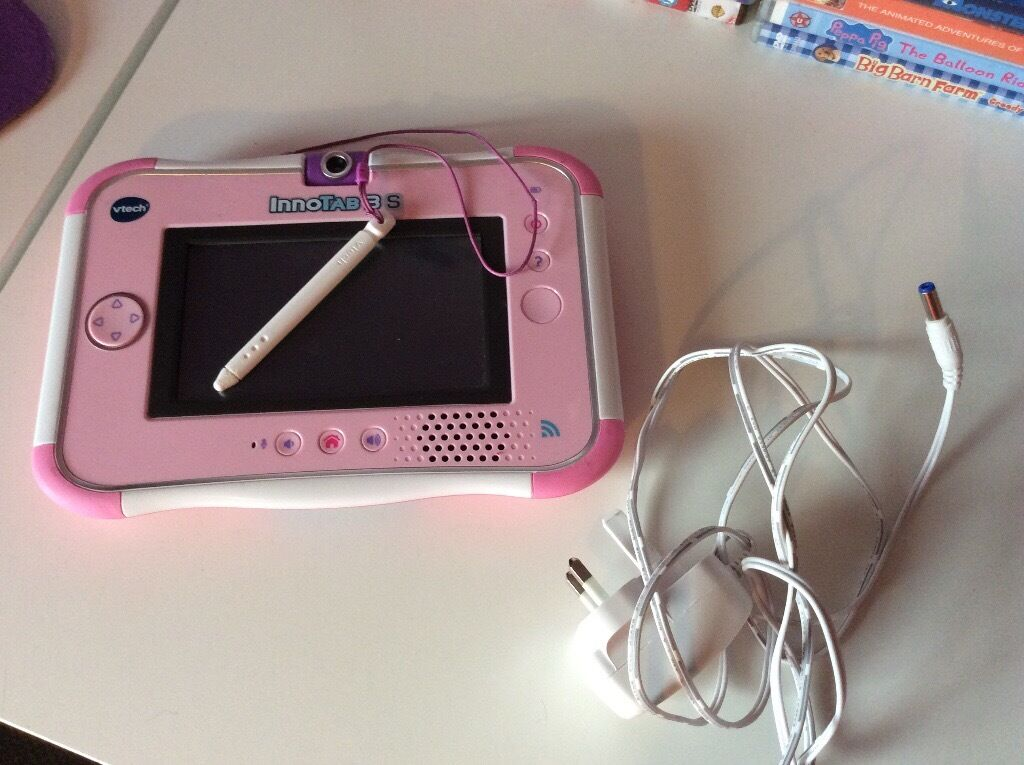 Vetch inno tab girls perfect condition comes with charger and princess game also a case