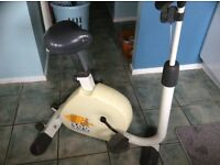 Exercise Bike for sale with built in electronic data reader