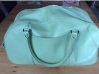 Marks and Spencer's Ladies Mint Green Weekend Holdall