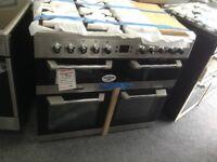 Leisure cuisinemaster CS100F520x 100cm range. New/graded 12 month Gtee