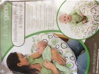 Dreamgenii breastfeeding pillow and baby nest