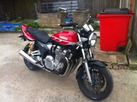 xjr 1300 sp 21,000 miles new MOT