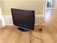 """Technika 22"""" Flat screen TV, with built in DVD Player"""