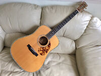 Blueridge BR-180N Acoustic Guitar Dreadnought Based On Martin D-45 - Incredible Sound
