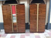 Two Vintage Wardrobes £10 Each