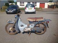 WANTED; Old Honda 50 C100/C102's Bikes Or Parts
