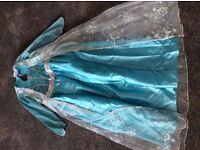 Frozen Elsa dressing up dress age 7-8 years.
