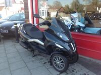 PIAGGIO MP3 125cc CBT NEEDED TO RIDE.. MOT JANUARY 2019 JUST SERVICED DELIVERY POSSIBLE