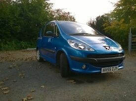 Peugeot 1007, 2005, 1600cc, 5 door Hatch Back Semi-Automatic Petrol.