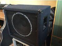 Warwick WCA 115 ND 1x15 bass speaker cabinet **price reduced***