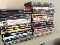 Various DVD's (avengers, batman series, planet of apes series, etc.) all for 15