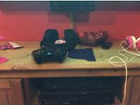 Xbox one with controller (play and charge cable and battery included), , Kinect and games