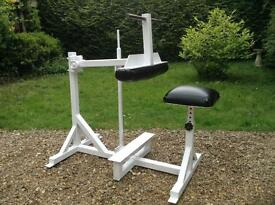 Commercial Seated Calf Raise Machine (Delivery Available)