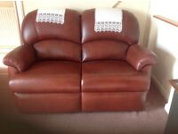 3 Piece suit 2 Reclining chairs and 2 seater settee