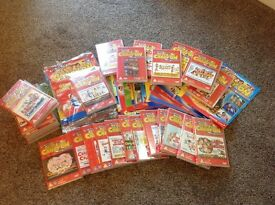 Full set of 30 Carry On films on DVD with descriptive books for each DVD
