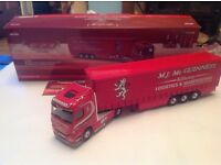 Various corgi limited edition model lorrys 1:50 scale