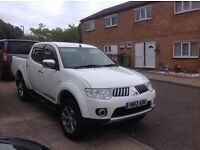 2013 13 reg Mitsubishi l200 double cab very good condition 2.5 diesel