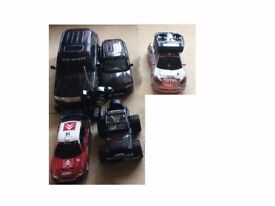 Five remote control cars (make an offer must go)