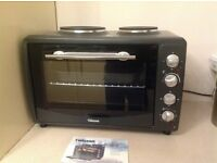 Tristar Mini Kitchen Oven with Two Hotplates