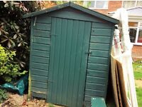 garden shed.£20 2m x 1.6m.Buyer to dismantle by 30.5.17