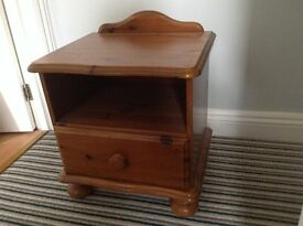 Small bedside cabinet. Good condition.