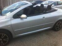 peugeot 307 convertible facelift model spotless !!!!