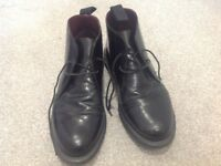 Gents Black Doc Martin Boots Size 7