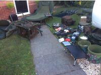 Carp set up setup Daiwa Basia 45qd Delkim Txi Plus matrix Sonik Gravity x Nash wide boy fox Korda