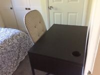 Small desk and chair for sale in perfect condition