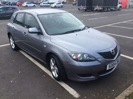 Mazda 3, very good runner has never let me down. Clean interior. Multi disk CD player.