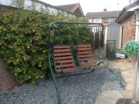 Twin Seat Garden Swing