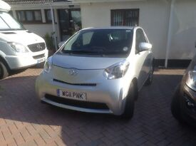 Toyota IQ Automatic Silver 6200 miles excellent condition c/w 9 airbags!