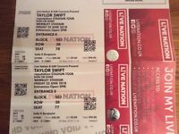2 X Taylor Swift tickets Reputation tour Friday 22nd June, Wembley Stadium £80.00 for both