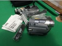 JVC MINI DV CAMCORDER WITH ACCESSORIES IMMACULATE