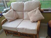 Conservatory furniture - bamboo sofa