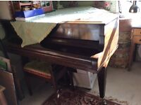 Baby grand piano. Free to good home !