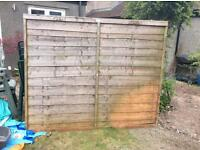 Fence panel 6ft wide x 5ft high