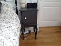Pair of IKEA Edland Bedside Tables, Slate Grey