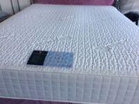 Carter&Lewis 1500 pocket sprung mattress 6 weeks old. Divan base 4 draws free if required.