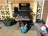 Gas barbecue including gas bottle. Perfect working order.