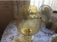 Retro large brandy glass