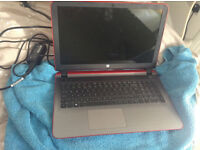 Almost new , HP Pavilion , AMD A8 ,15.6 Inch 8GB Ram, 1TB Hardrive laptop