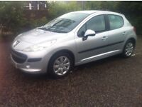 **PEUGEOT 207 - STAR SILVER - IMMACULATE - £30 ROAD TAX**
