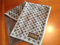 Genuine Louis Vuitton Men's Monogrammed Scarf