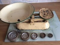 Old Set of Weighing Scales.