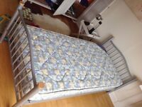 Single bed, 3door wardrobe and chest of drawers/bookcase